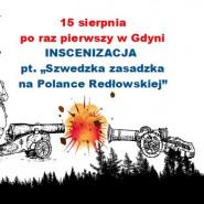 Szwedzka zasadzka na Polance Redłowskiej - inscenizacja