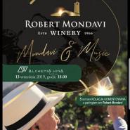Kolacja komentowana z pairingiem win Robert Mondavi Winery