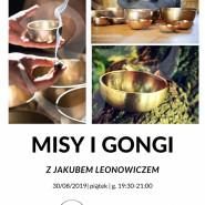 Misy i Gongi sesja relaksacyjna