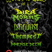 Wrath of Gods - Vol.4: Dira Mortis / Wardust / Thempest / Immense Decay
