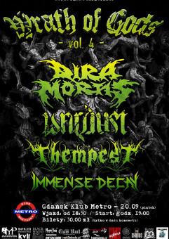 Wrath of Gods - Vol.4: Dira Mortis / Wardust / Thempest / Immense Decay