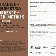Rekurancje - Potęgometria, wystawa, koncert sztuki współczesnej w ICS