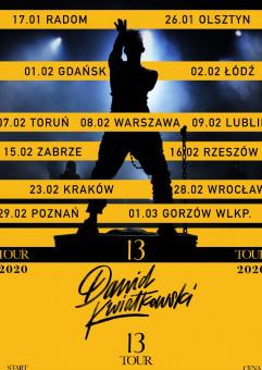 Dawid Kwiatkowski - 13 Tour