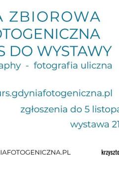 Gdynia Fotogeniczna - fotografia uliczna Gdyni - wystawa