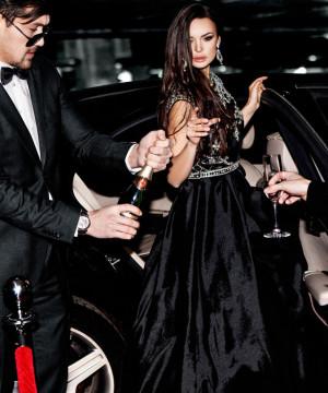 Sylwester w stylu glamour