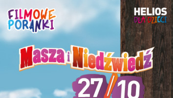 Bilety na Filmowe Poranki Masza i Niedźwiedź, cz. 1