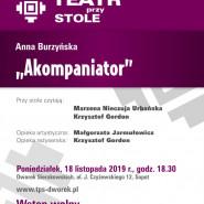 Teatr przy Stole: Anna Burzyńska - Akompaniator
