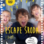 Escape środa pełna zagadek logicznych (7-10 lat)