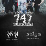 Koncert: 747 + Satya + Ravna