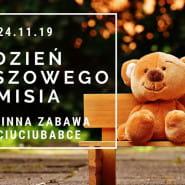 Dzień Pluszowego Misia - rodzinna zabawa w Ciuciubabce