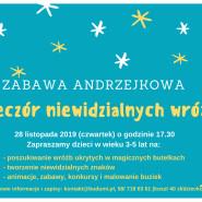 Zabawa Andrzejkowa - Wieczór niewidzialnych wróżb dla dzieci 3-5 lat