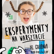 Eksperymenty na warsztacie (4-8 lat)
