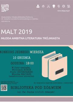Konkurs Jednego Wiersza MALT 2019