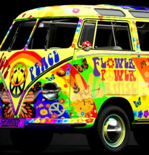 Sylwester Flower Power Party