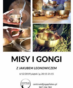 Misy i Gongi z Jakubem Leonowiczem - sesja relaksacyjna
