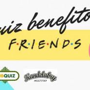 Quiz benefitowy - Friends