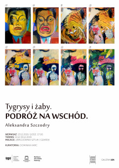 Aleksandra Szczodry: Tygrysy i żaby. Podróż na Wschód