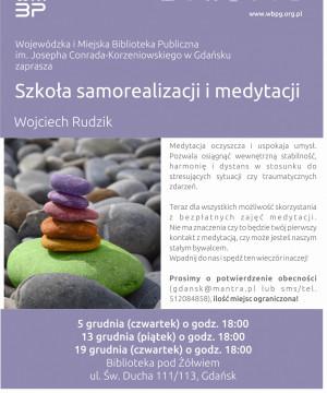 Szkoła samorealizacji i medytacji