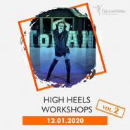 High Heels workshops z Tomkiem Jakowienko vol.2