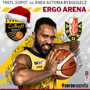 Koszykówka: TREFL Sopot - Enea Astoria Bydgoszcz