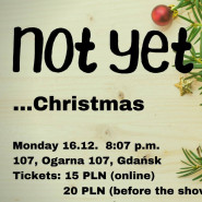 NOT YET Christmas Improv Show