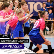 Ekstraliga futsalu kobiet: AZS Uniwersytet Gdański - AZS Uniwersytet Warszawski