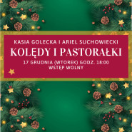 Kasia Golecka: koncert kolęd i pastorałek