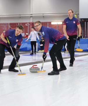 Trening curlingu dla początkujących