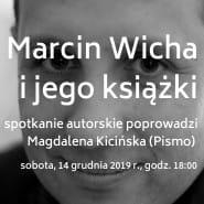 Marcin Wicha i jego książki w księgarni Smak Słowa