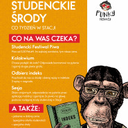 Studenckie Środy x Funky Monkey x tanie piwo, quizy, beer pong