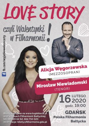 Love Story, czyli Walentynki w Filharmonii - , 16 lutego 2020 (niedziela)
