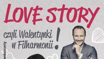 Zaproszenia na koncert Love Story czyli Walentynki w Filharmonii