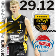 Koszykówka: TREFL Sopot - HydroTruck Radom