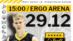 Bilety na mecz Trefl Sopot vs HydroTruck Radom