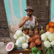 Kuba z plecakiem