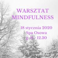 Warsztat Mindfulness