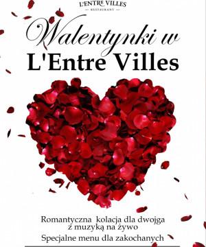Walentynki w L'Entre Villes w Sopocie