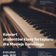 Koncert studentów klasy fortepianu aMuz
