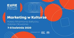 Marketing w Kulturze - , 7 - 8 kwietnia 2020