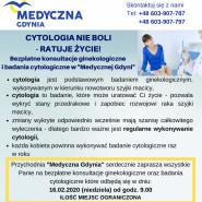 Bezpłatna cytologia i konsultacje ginekologiczne