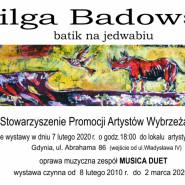 Wilga Badowska: Batik na jedwabiu