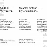 Gdańsk - Warszawa. Wspólne historie - kryterium koloru