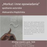 Spotkanie autorskie z Aleksandrą Majdzińską