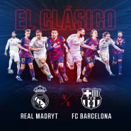 El Clasico. Real Madryt  FC Barcelona