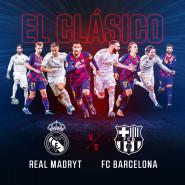 El Clasico. Real Madryt  FC Barcelona w Kinie Helios Gdańsk Forum