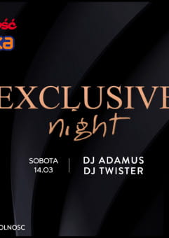 Exclusive Night: Adamus & Twister
