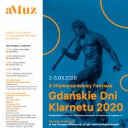 II Międzynarodowy Festiwal Gdańskie Dni Klarnetu 2020