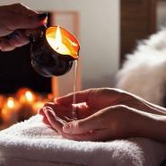 Zapachowe świece sojowe do masażu - online