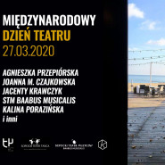 Międzynarodowy Dzień Teatru - online w Teatrze na Plaży