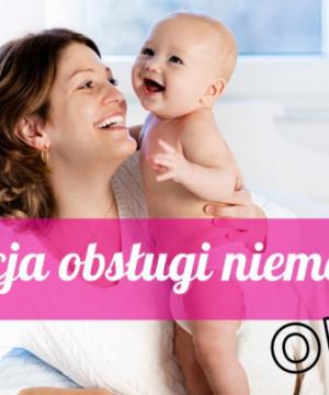 Instrukcja obsługi niemowlaka - pierwsze 3 miesiące życia dziecka - online